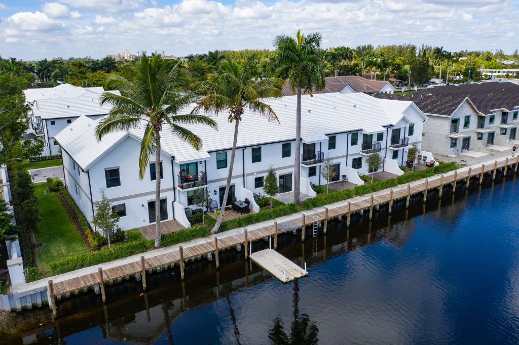 New townhomes available at Aqua Bella in Dania Beach, FL by Rocklyn Homes