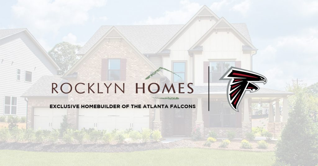 Rocklyn Homes is the exclusive homebuilder of the Atlanta Falcons